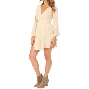 Free People Jasmine Dress in Almond